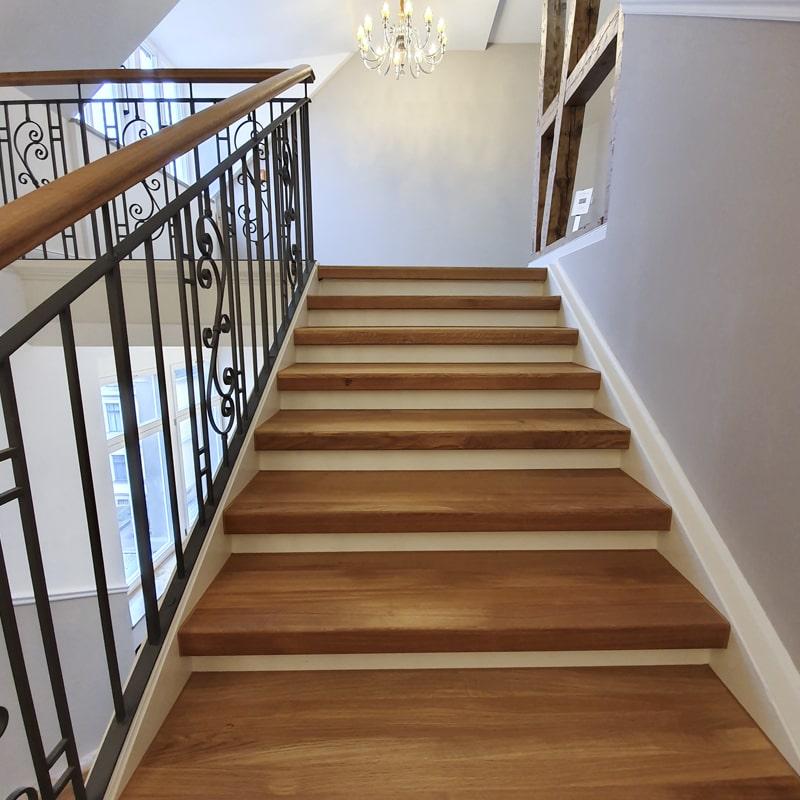 Treppenhaus Holz