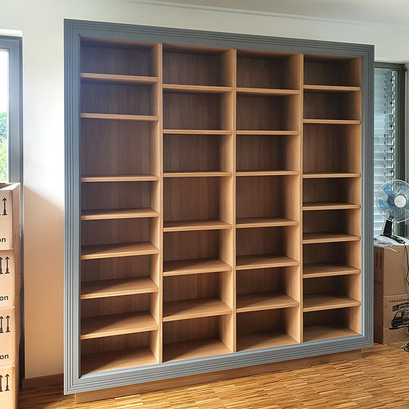 Bücherregal Massivholz komplett