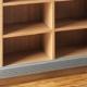 Bücherregal Massivholz