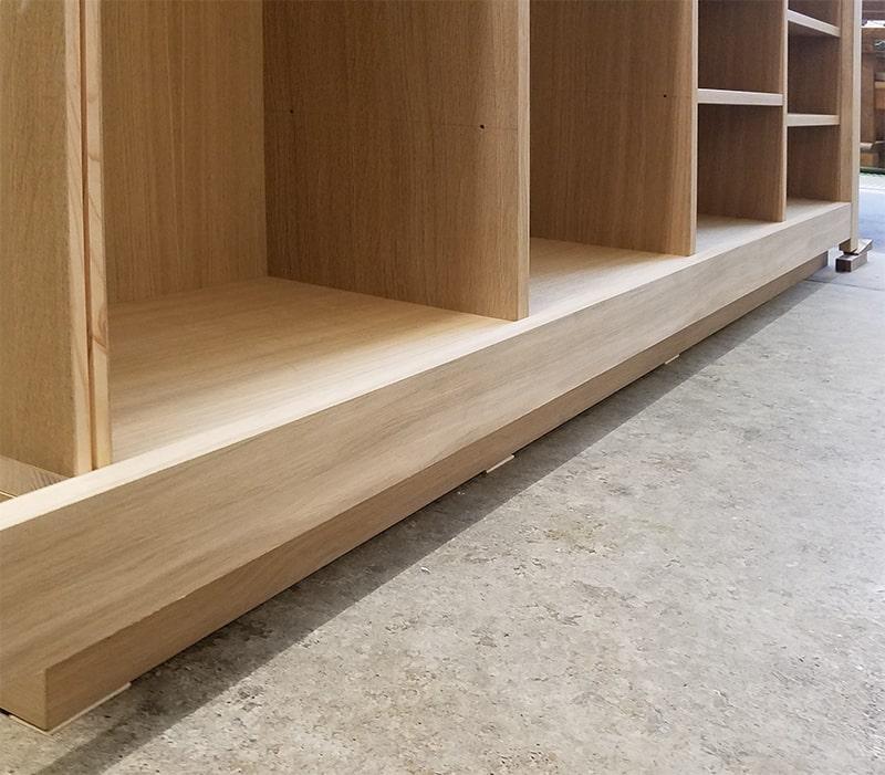 Bücherregal Nahaufnahme