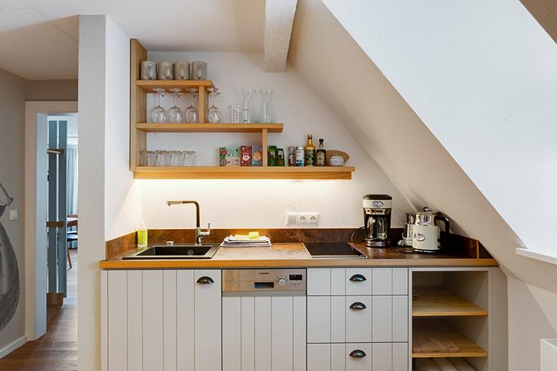 Schreiner Küche Frontansicht