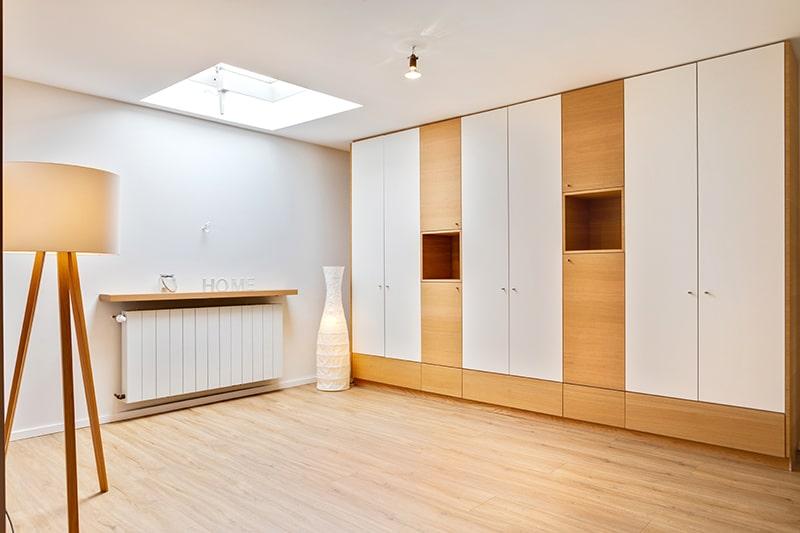 Stauraum Möbel im Raum