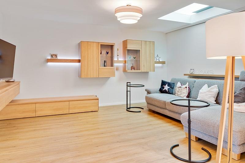Wohnzimmermöbel Massivholz Einrichtung